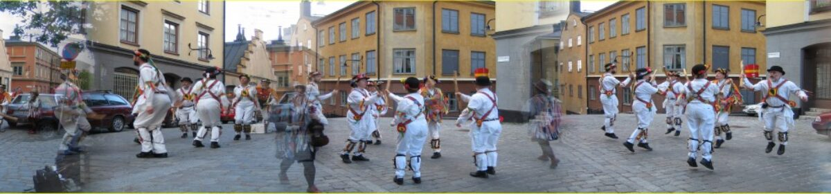 Eken Morris Dancers, Stockholm, Sweden – Exercise, fun and beer – what's not to like?