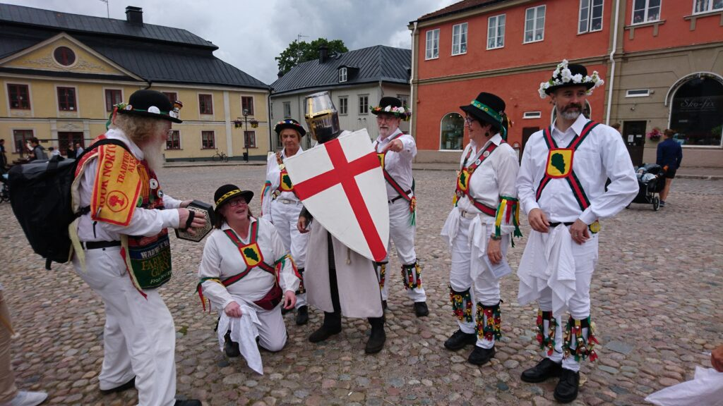 August 10, 2019. Arboga Medieval Festival with St George.