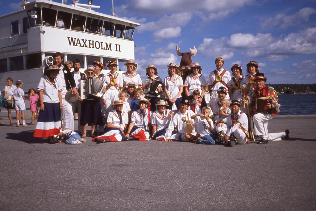 August 19, 1989. Vaxholm with England's Glory.